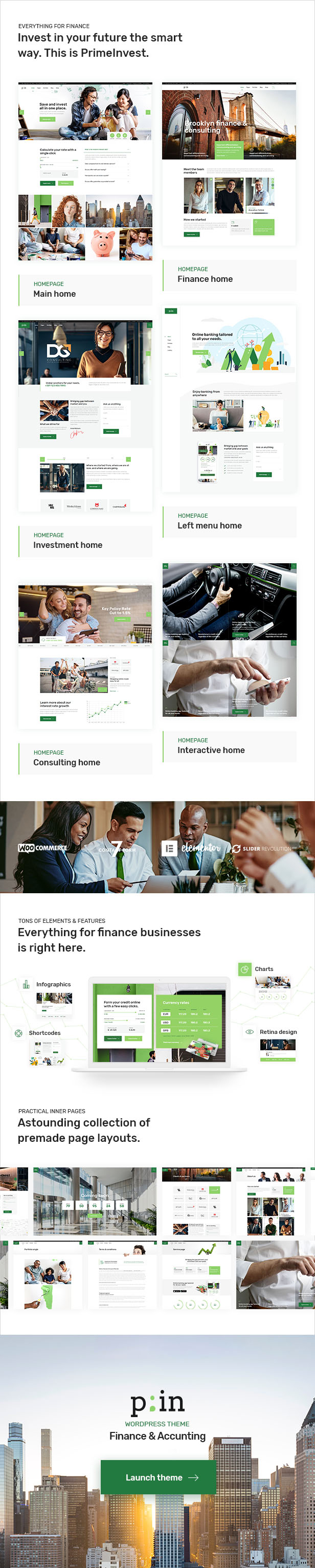PrimeInvest - Finance Theme - 2